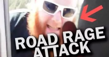 oad Raged Man Physically ATTACKS Driver and has Public Meltdown
