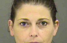 HUNTER, SHERRI CHRISTIAN - 2017-09-21 03:56:00, Mecklenburg County, North Carolina - mugshot, arrest